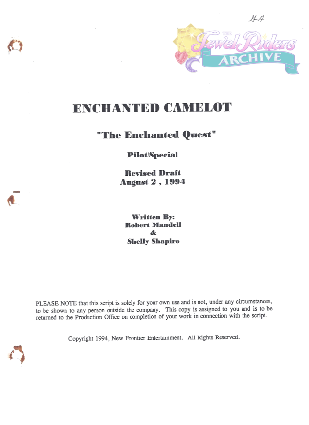 Enchanted Camelot - The Enchanted Quest