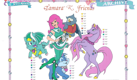 17 - Tamara and Friends Pantone