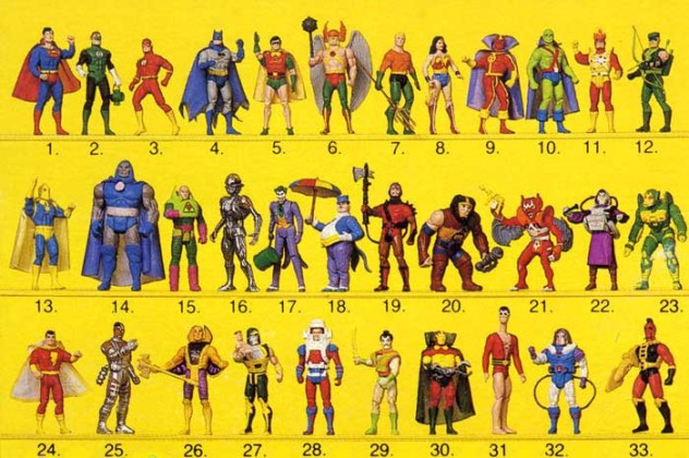 DC Super Powers Checklist