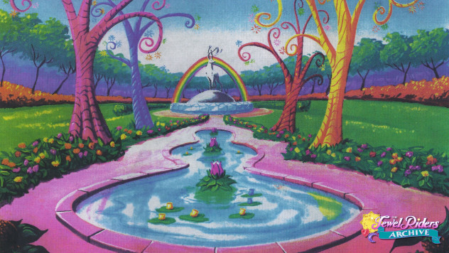 Rainbow Garden 16x9 Wallpaper