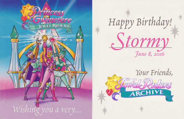 Happy Birthday, Stormy!