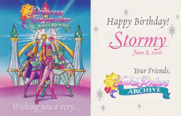 Happy Birthday, Stormy!