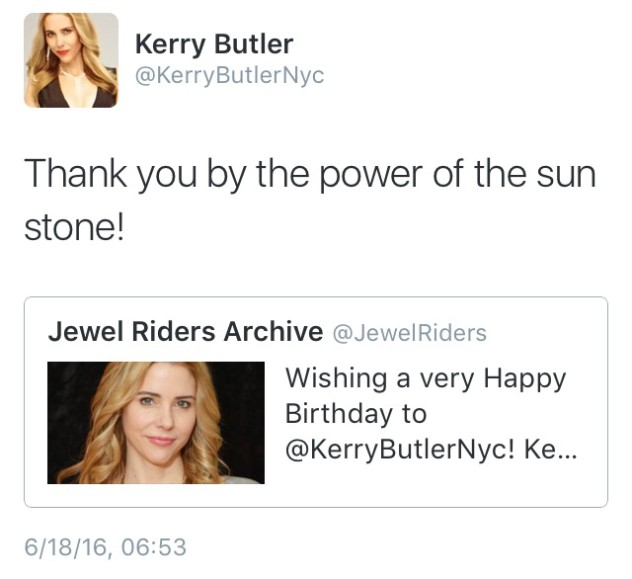 Kerry Butler Birthday
