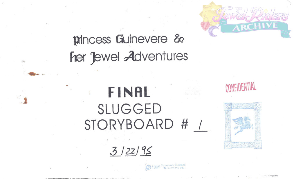 Jewel Quest Storyboard