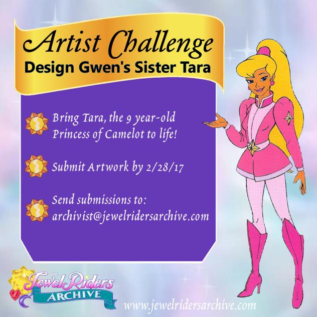 Artist Challenge – Design Gwen's sister Tara!