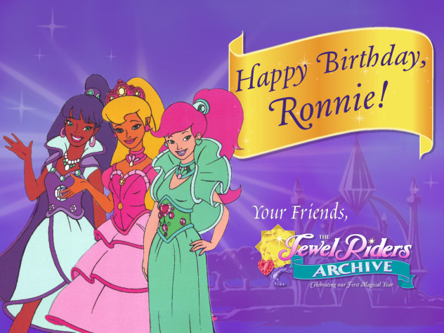 Happy Birthday, Ronnie!