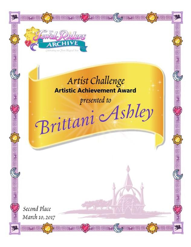 Artist Challenge - Second Place