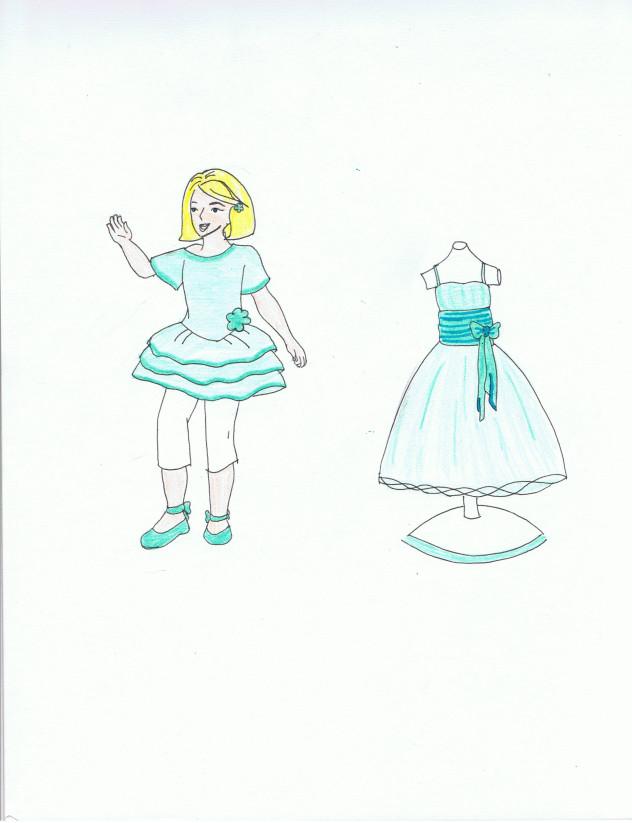 Tara's New Dress