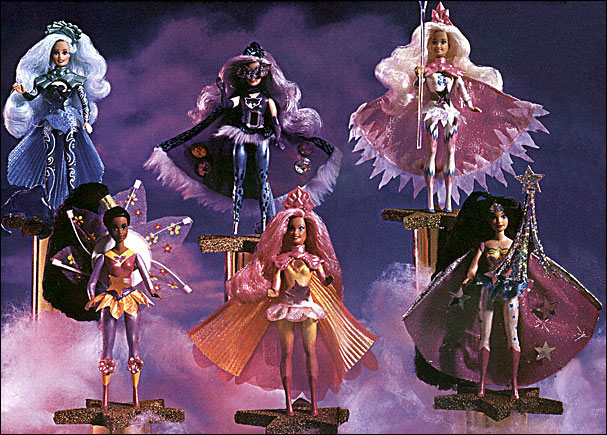 Wonder Woman and the Star Riders Prototypes