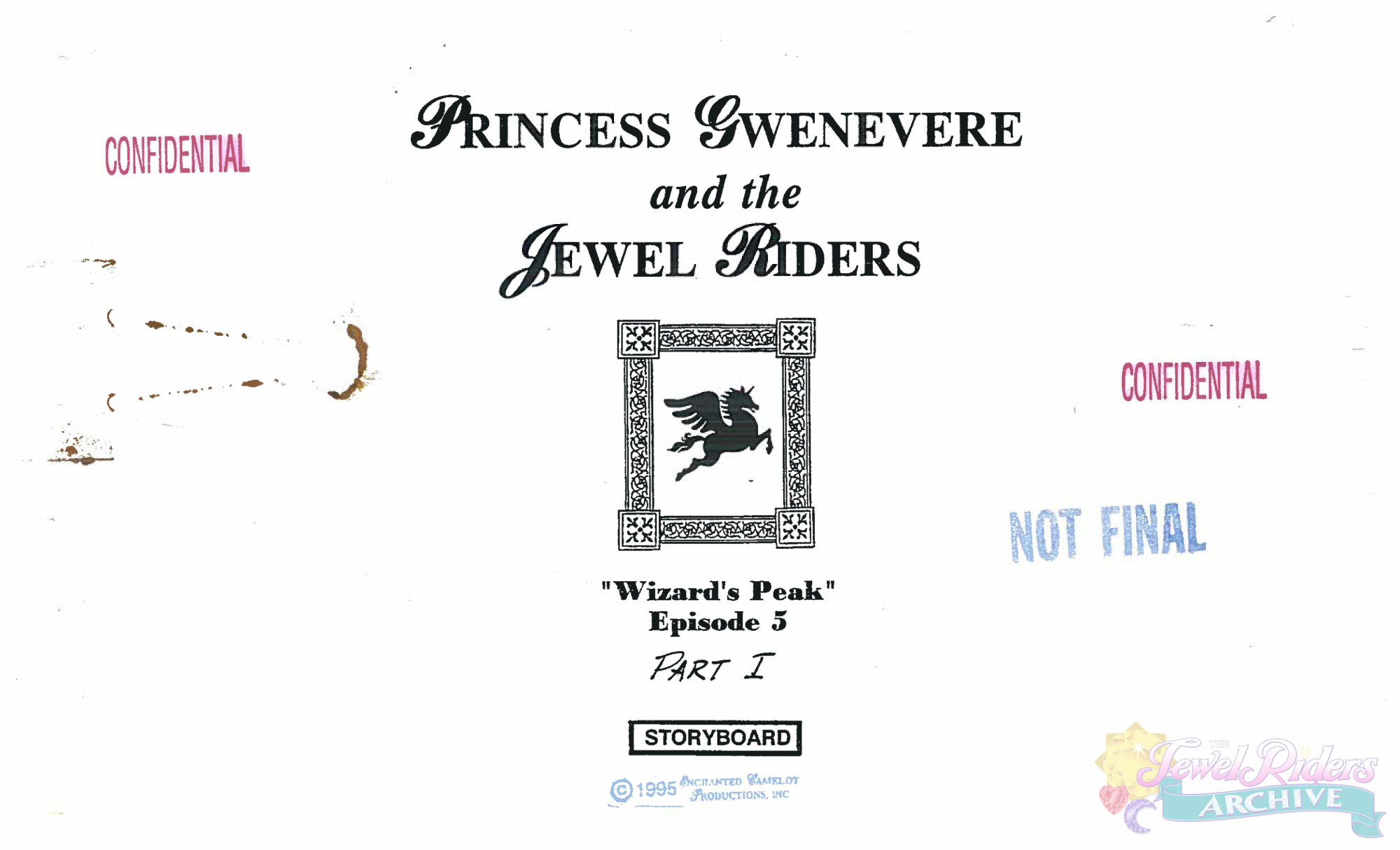 Christmas in July – The Jewel Riders Archive