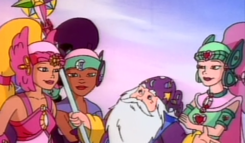 Screencap - Merlin and Girls