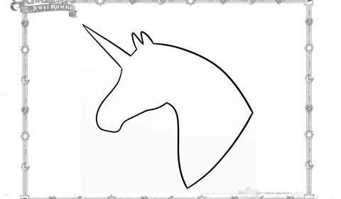 Unicorn Coloring Page 05