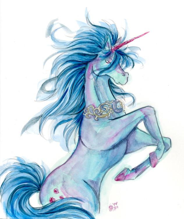 Artist Challenge Unicorn - Emily Park (emi_fry)