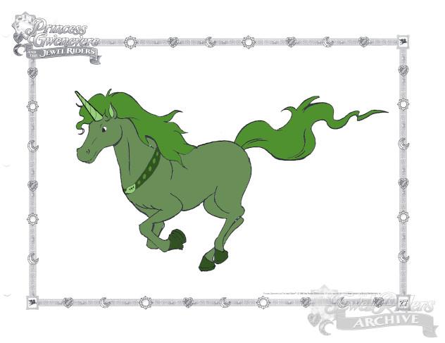 Artist Challenge Unicorn - Grasstail - Charlotte Whaley