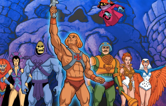 He-Man Cast, illustrated by Emiliano Santalucia