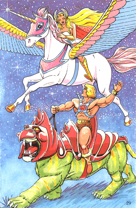 MOTU - He-Man and She-Ra 2