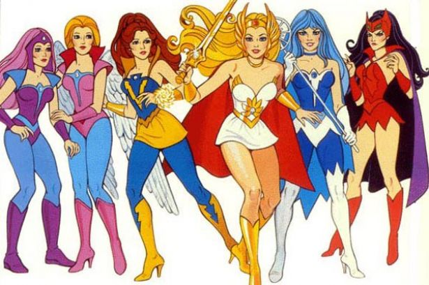 Mattel Style Guide artwork for She-Ra