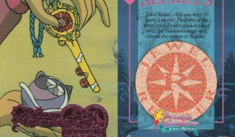 Merlin's special Wizard Jewel of the past was transformed to a key, which he gave to Princess Gwen. This powerful key will help Gwenevere secure the seven lost Crown Jewels. When a jewel is found, Gwen touches it with the key and it returns to the Jewel Box.