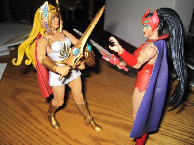 She-Ra vs Catra